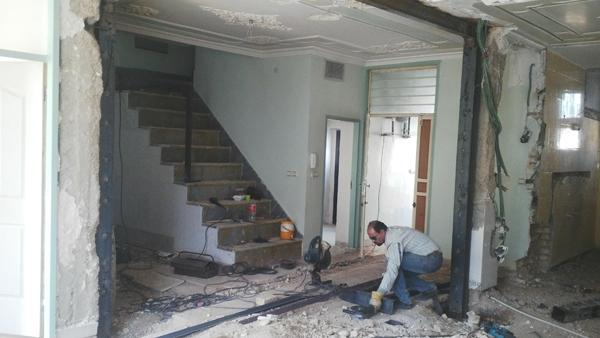 بازسازی طراحی داخلی